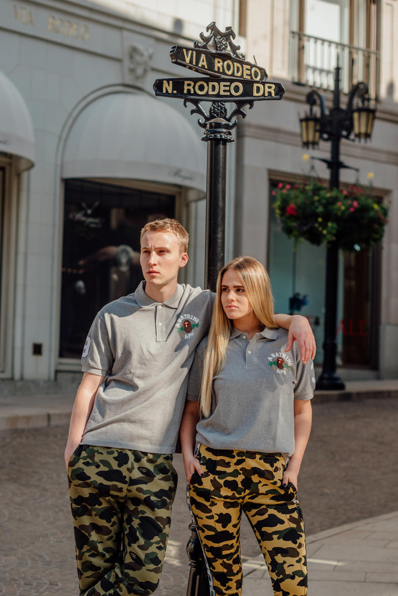 BAPE Exclusive LA Capsule Lookbook A Bathing Ape Los Angeles