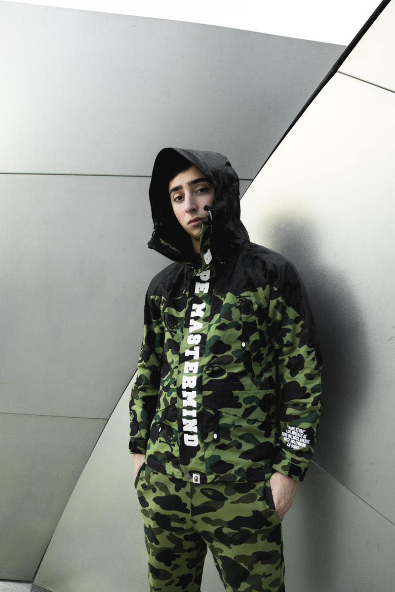 mastermind JAPAN BAPE A Bathing Ape Exclusive LA Collection Lookbook