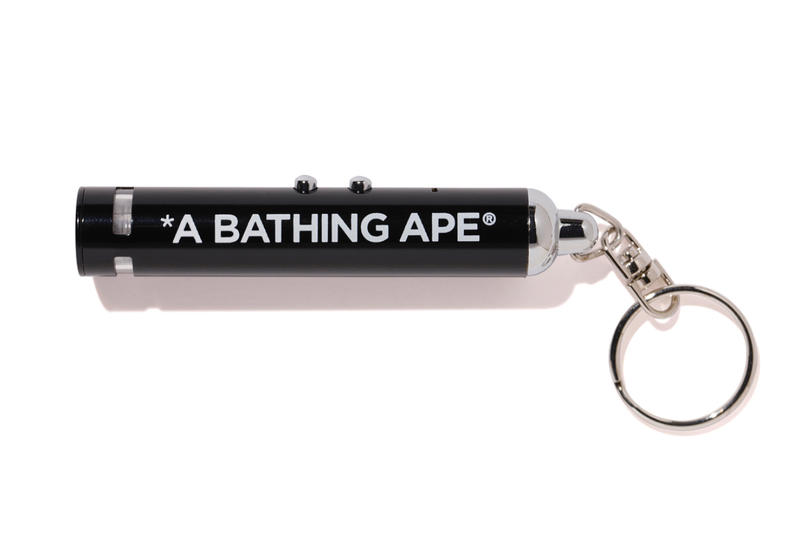 BAPE A Bathing Ape Projector Light Key Chain Accessories