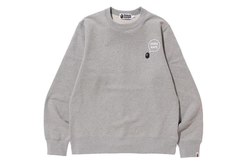 Bape Dover Street Market Ginza Limited Items Pocket Tees T-Shirts Jogging Bottoms Track Pants Crewnecks Sweatshirts