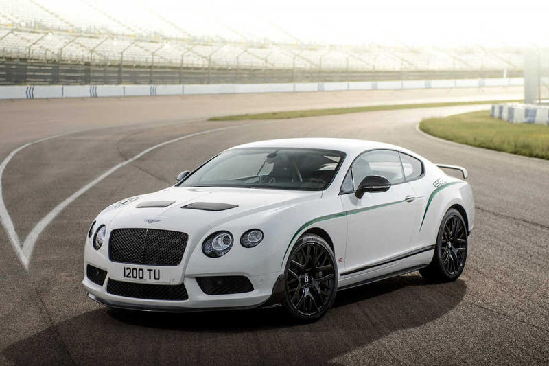 Bentley Continental GT3 R For Sale Auction Rare White Green Racing Supercar Luxury Car Whips Cars Limited Edition