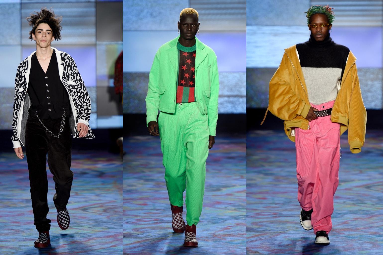 New York Fashion Week 2018 Fall Winter trend report list runway collection show raf simons calvin klein landlord coach 1941 tom ford eckhaus latta john elliot n hoolywood abasi rosborough c2h4
