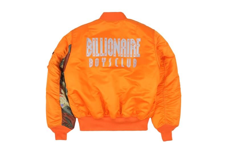 Billionaire Boys Club EU Alpha Industries NASA MA-1 Flight Jacket