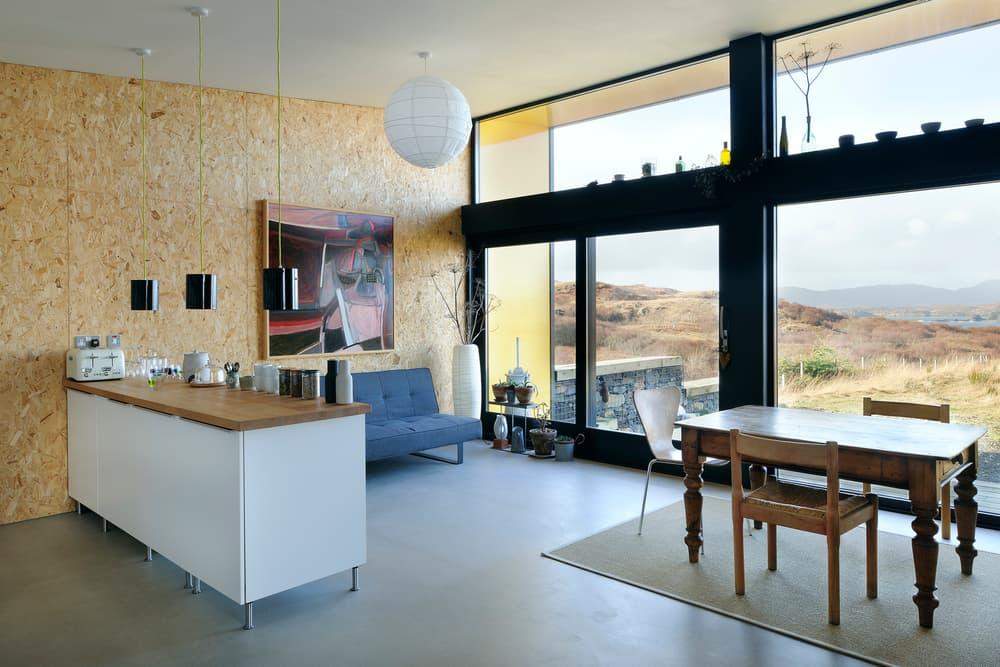 Black House Rural Design Architects Mountains Landscape Fields highland uk