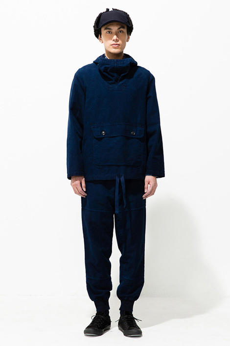 Blue Blue Japan 2018 Fall Winter Lookbook collection indigo dye patchwork