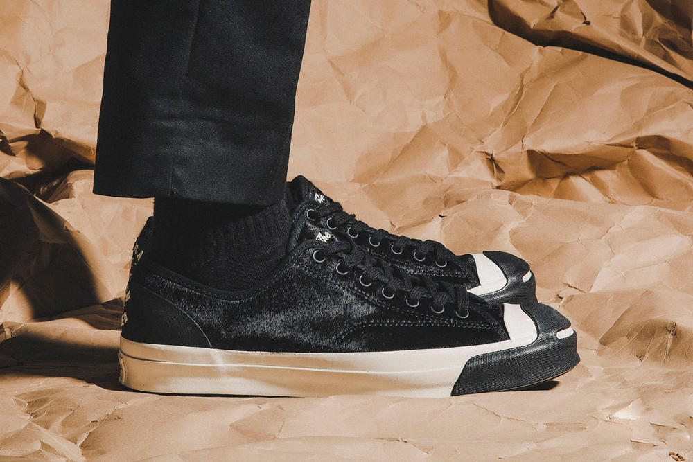 BornxRaised Converse Jack Purcell on the turf Pack On Feet collaboration hbx hypebeast store 2018 february 3 release drop date info sneakers shoes footwear