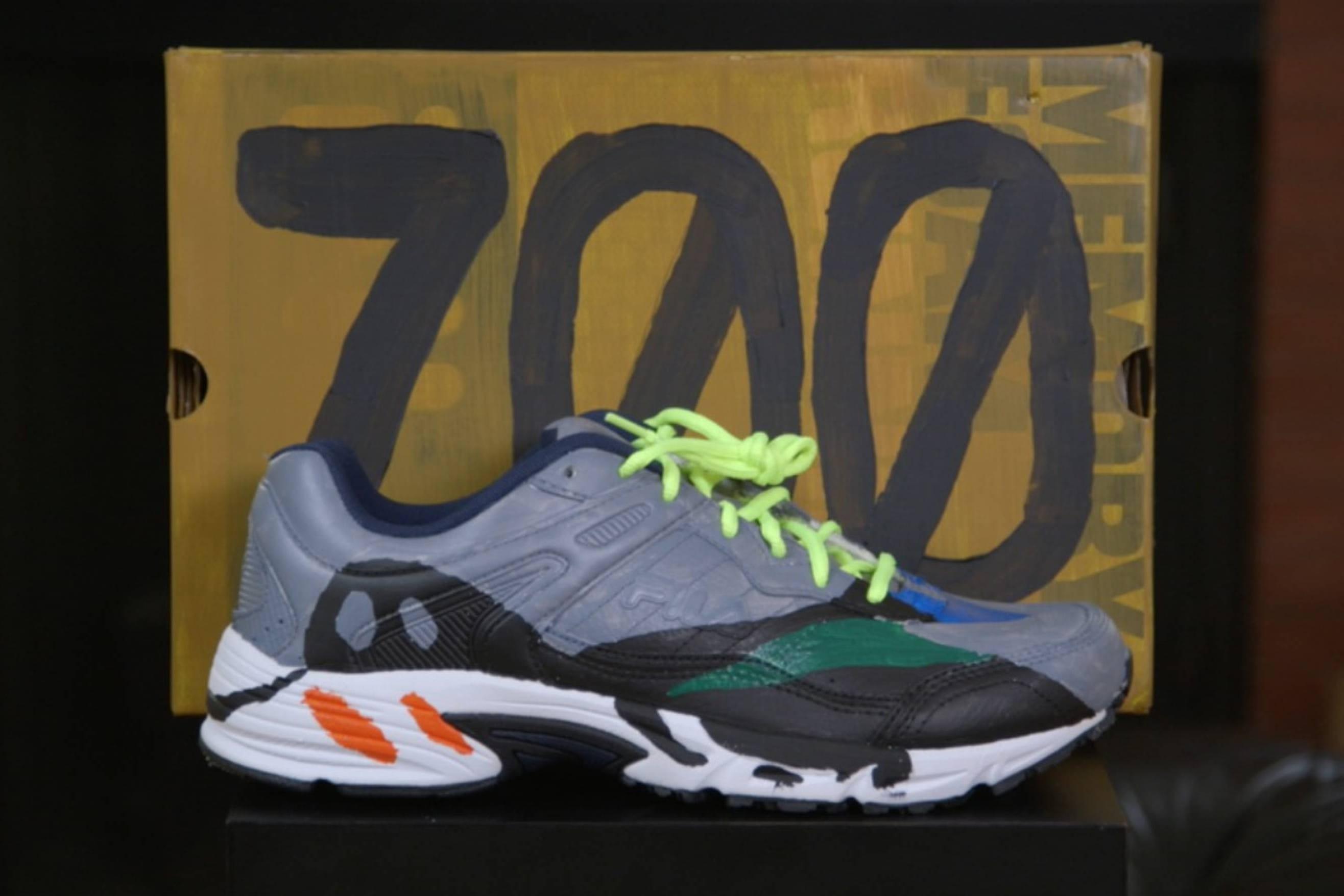 Brad Hall YEEZY Wave Runner 700 Mock-Up