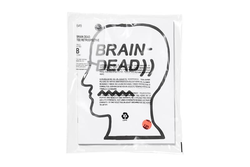 Brain Dead T-shirt Retrospective Book un publishing 2018 february march release date info drop
