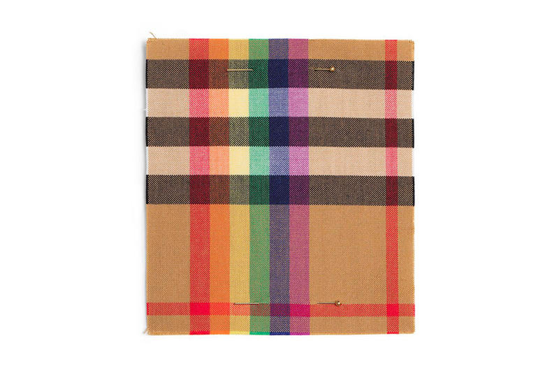 Burberry Rainbow Check LGBTQ+ Community Charity British Heritage Culture