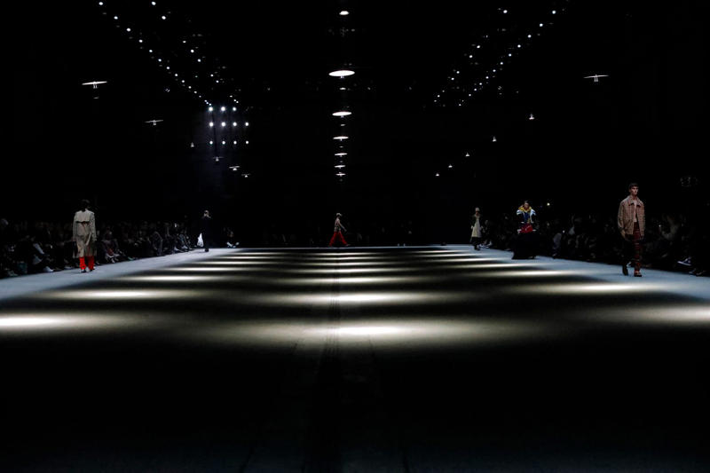 United Visual Artists Burberry Christopher Bailey London Fashion Week Fall/Winter 2018