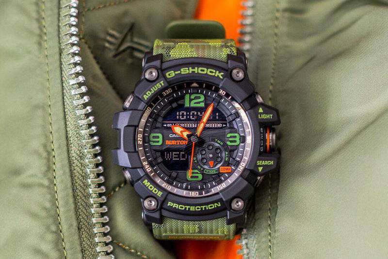 Burton Casio G SHOCK Mudmaster collaboration master of g 2018 release date info drop