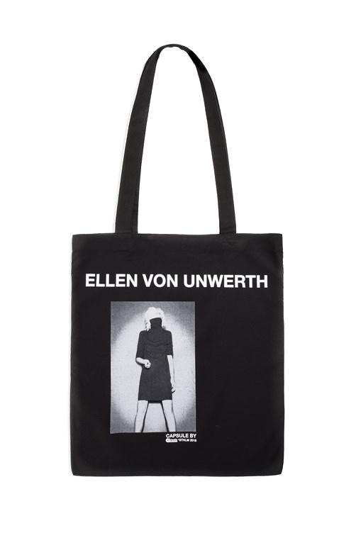 Ellen Von Unwerth Caliroots Collaboration Collection drop release 2018 february 23 30 Years Photographing Women limited edition t shirt hoodie tote bag