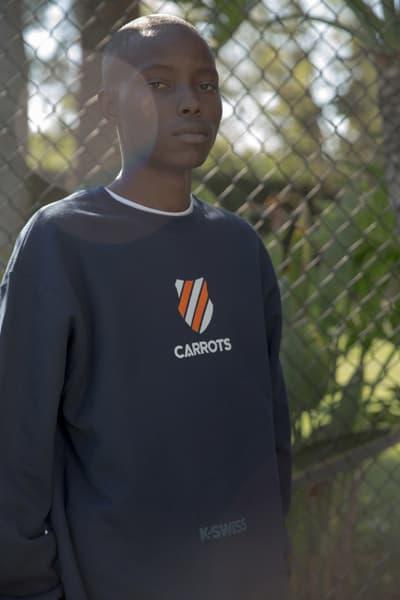 Carrots K-Swiss Made in Japan Classic 66 White T-Shirt Sweatpants Anwar