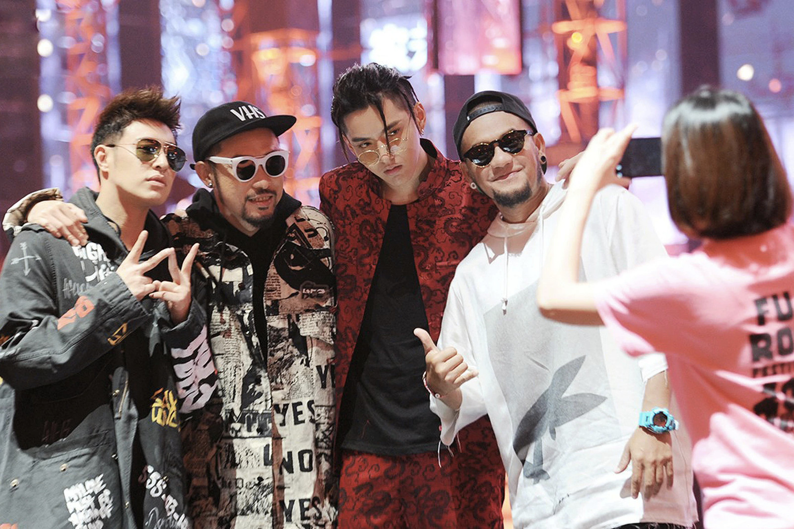 China Hip hop Rap Ban Response Tizzy T Bohan Phonix Doughboy Allyson Toy
