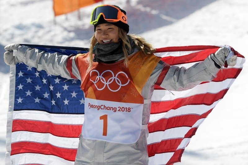 Chloe Kim Gold Medal Womens Halfpipe Snowboarding 2018 Winter Olympics Pyeongchang