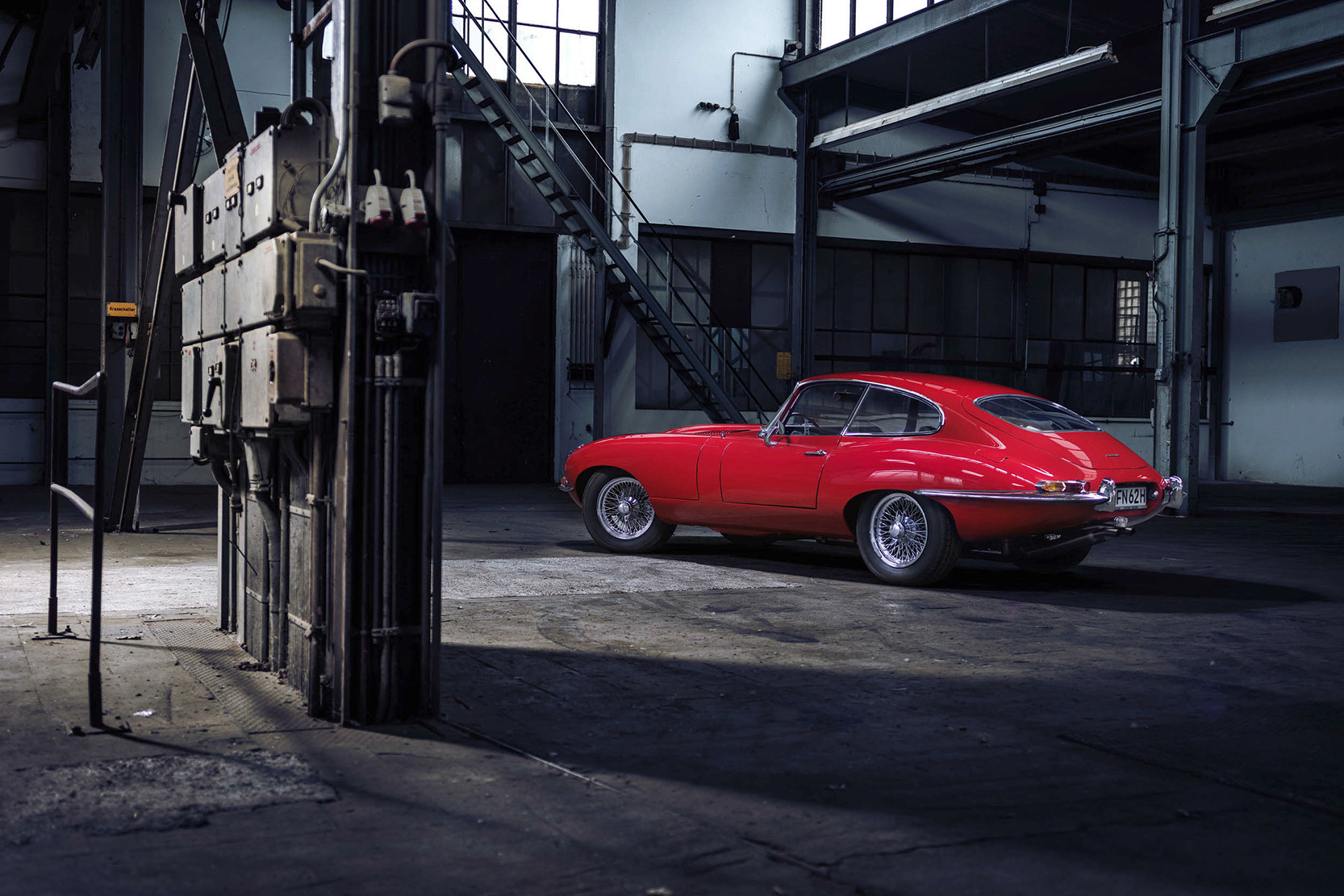 Classic Cars Parked In Garages and Ateliers