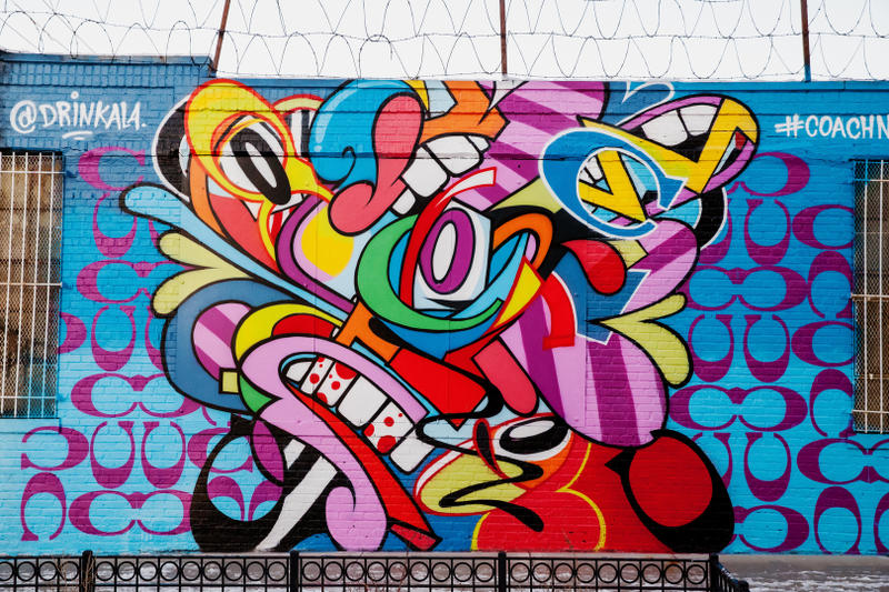 Coach SUCH DAIN WhIsBe Tats Cru Hellbent Jason Naylor Giz The DRiF Street Art Murals New York City