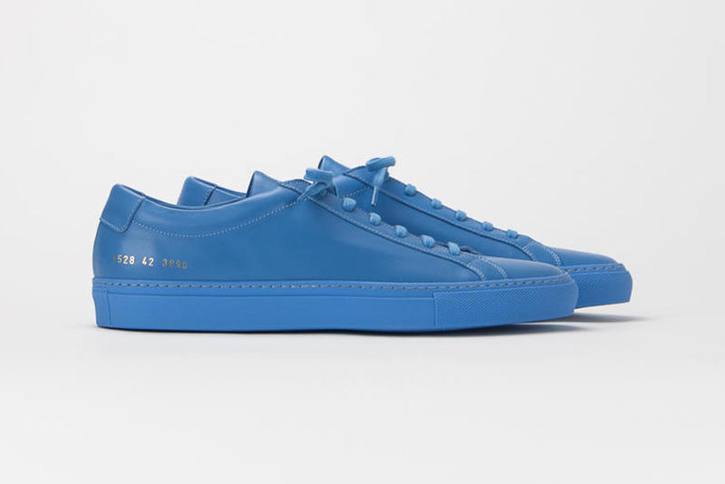 Common Projects Spring Summer 2018 Release Footwear Achilles Chelsea Derby