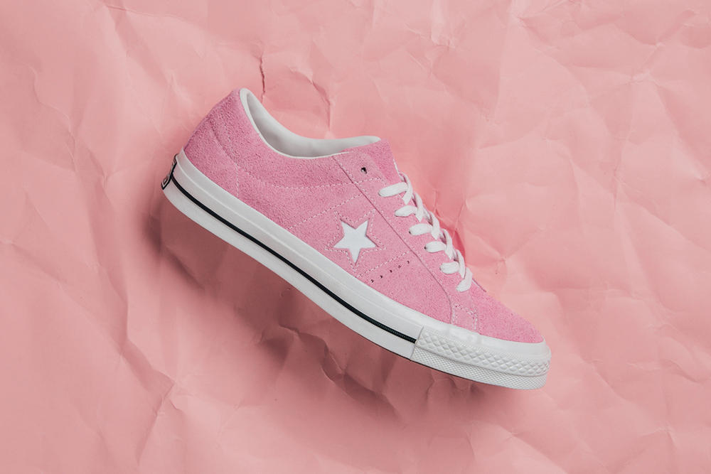 Converse One Star low Cotton Candy Pack Light Orchid Dried Bamboo Blue Chill
