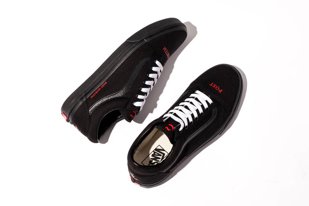Coutie Vans Old Skool Post Mortem collaboration 2018 february release date info sneakers shoes footwear