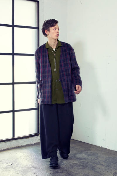 Curly Co 2018 fall winter lookbook japan tokyo the weft