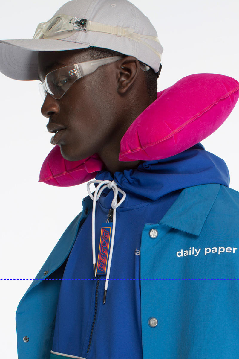 Daily Paper Spring Summer 2018 collection Lookbook transcend borders