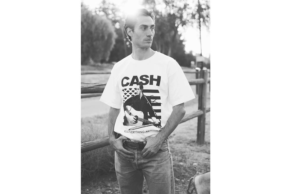 Diamond Supply Co. Johnny Cash Collection Collaboration 2018 Spring Summer jamie isaac childhood covers london show casitas springs the man in black