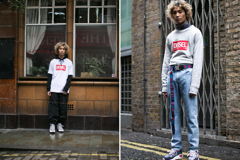 Diesel Fake Deisel Collection London Editorial Soho Knock-Off