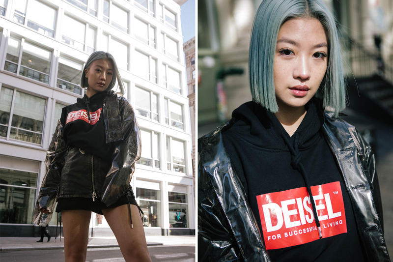 Diesel Fake Deisel Collection New York Editorial Knock-Off Counterfiet