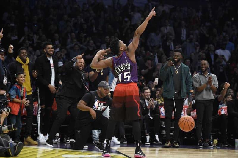 Donovan Verizon Slam Dunk Contest Champion NBA All-Star Weekend