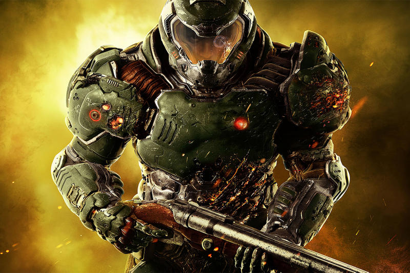 DOOM Nintendo Switch Motion Aiming Bethesda Multiplayer Video Games Gaming Shooter