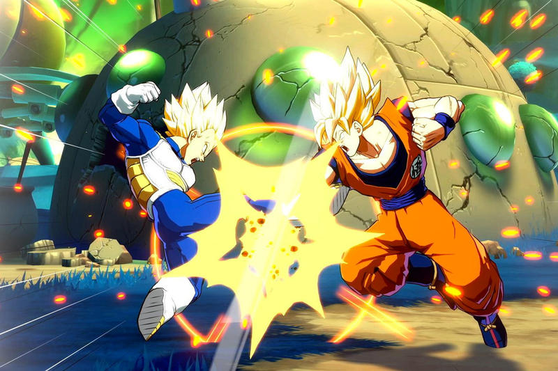 Dragon Ball FighterZ Game Launch Success 1.5 Million Copies Sold Digital Console Fighting Game Goku Super Saiyan