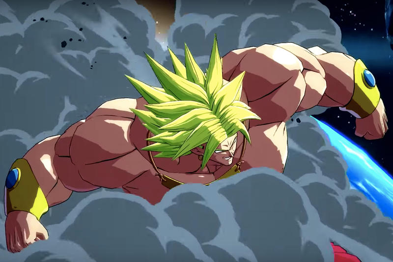 Dragon Ball FighterZ New Character Broly Bardock DLC Xbox One XB1 Playstation PS4 PC Downloadable Content