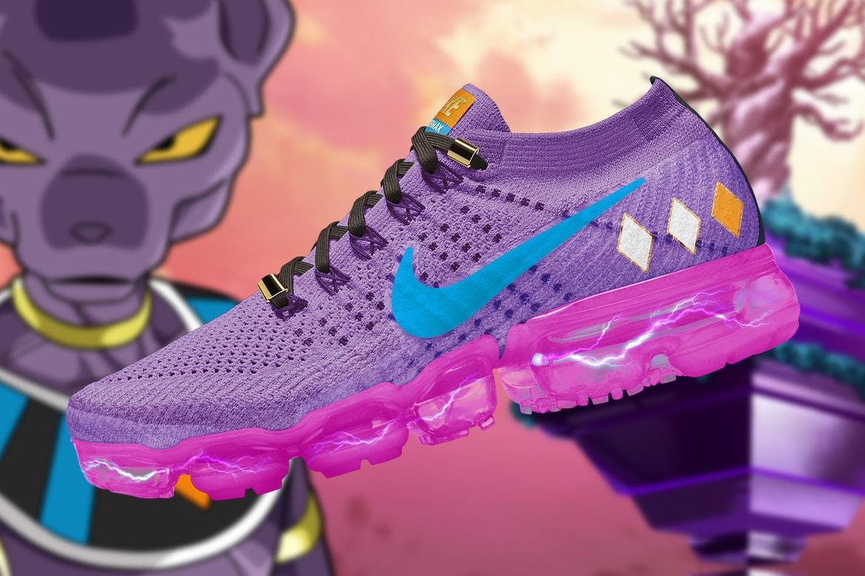 Arbitraje inercia Pekkadillo  Dragon Ball Super' x Nike Air Vapormax Concepts | HYPEBEAST