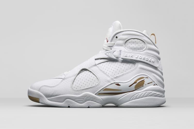 8936440d11021b Drake OVO Air Jordan 8 Retro Black and White Sneakers Mens Shoes release  info date drops