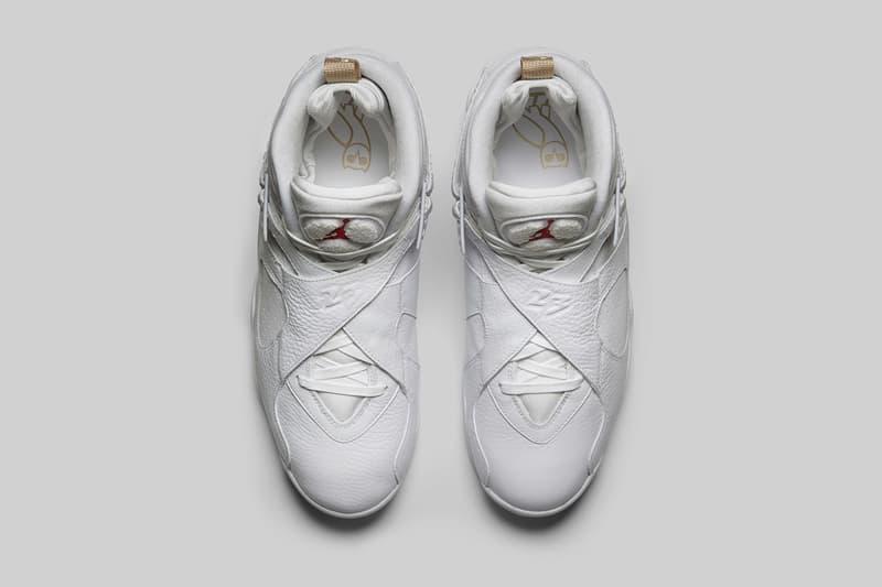 a6ea77762366 Drake OVO Air Jordan 8 Retro Black and White Sneakers Mens Shoes release  info date drops