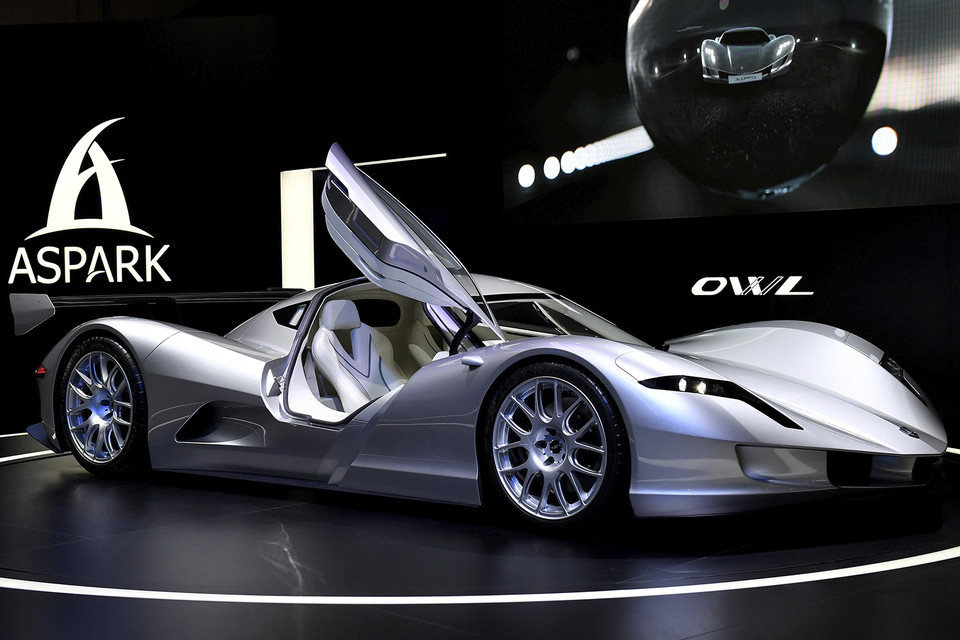 The Aspark Owl Electric Supercar Just Did 0 60 In Under 2 Seconds