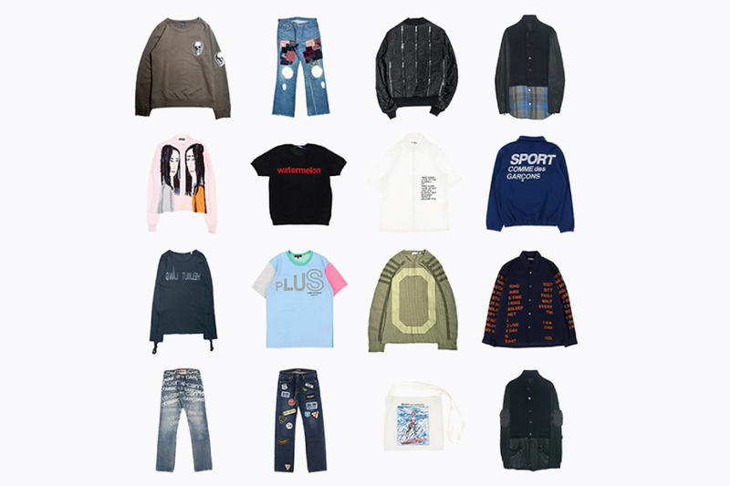 EMPTY R _ _ M Empty Room Archive Los Angeles Pop-Up Undercover Comme Des Garcons Takahiro Miyashita TheSoloIst Issey Miyake Junya Watanabe Man Raf Simons Helmut Lang