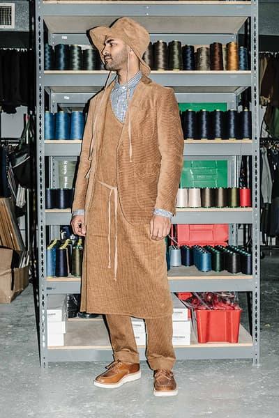 Engineered Garments Fall Winter 2018 Lookbook collection
