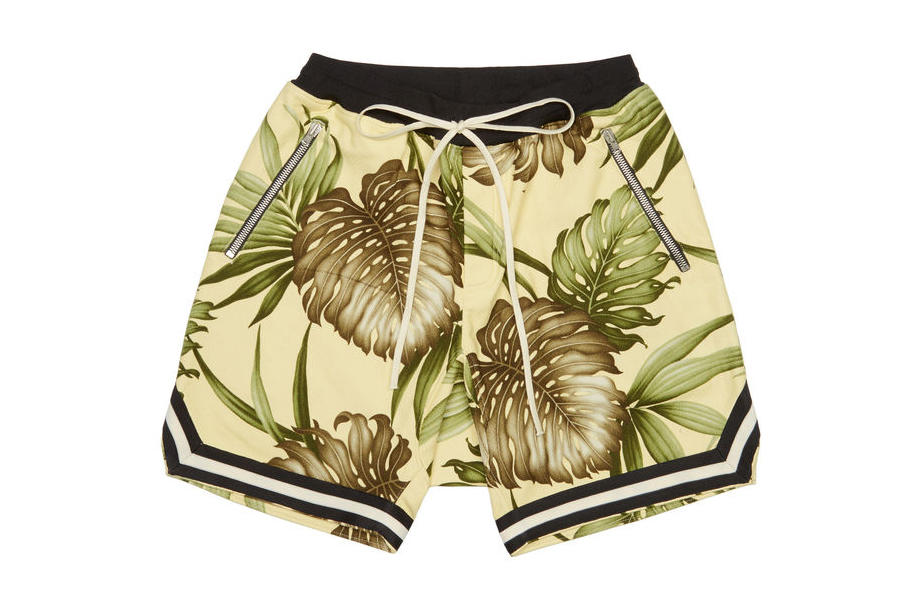 Fear of God SSENSE Jerry Lorenzo exclusive capsule collection 2018 February 3 drop release spring summer floral shorts
