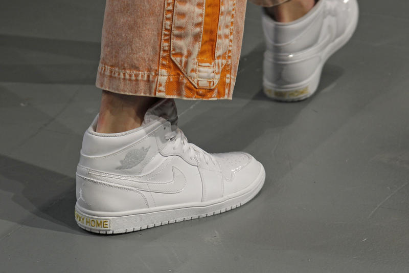 Feng Chen Wang Air Jordan 1 Closer Look Black White Fall/Winter 2018