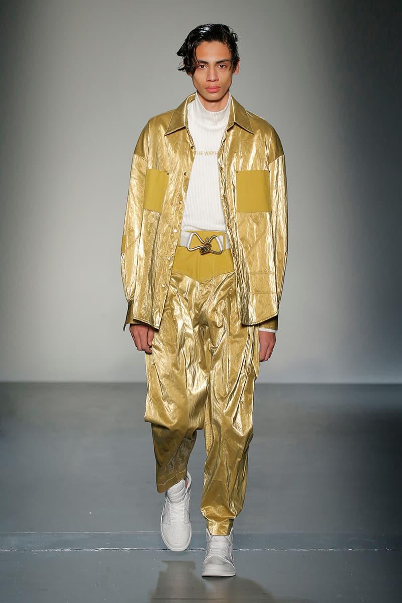 Feng Chen Wang Fall/Winter 2018 New York Fashion Week Men's Collection Runway Jordan Brand Air Jordan 1