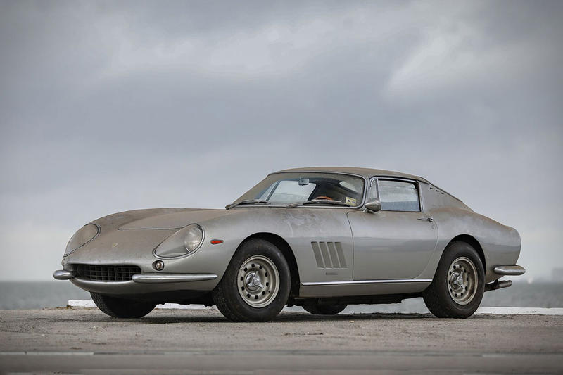 Ferrari 275 GTB 1996 $4 Million USD Found in Barn Gooding & Company Auction Shelby Cobra 427