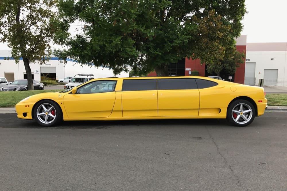 Ferrari 360 Stretch Limo Auction Fails eBay
