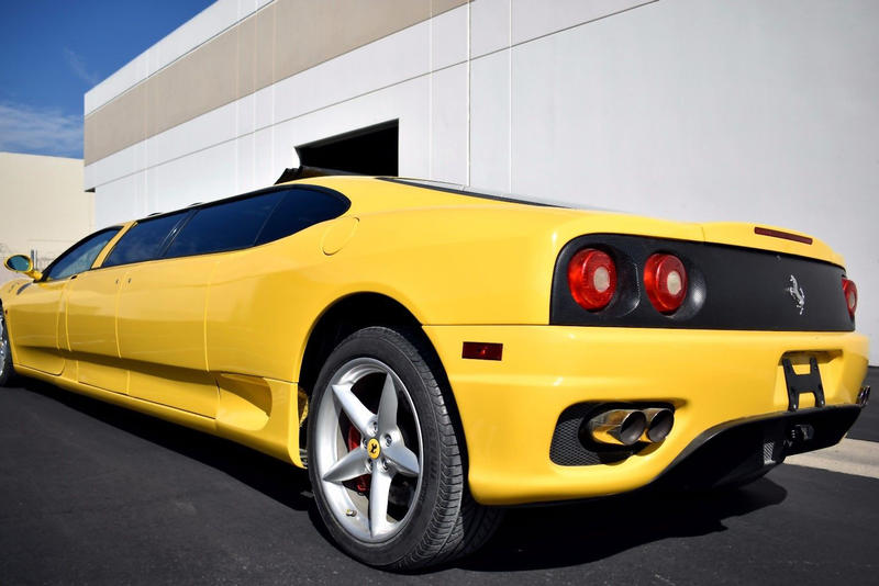 Ferrari 360 Stretch Limo Auction Fails eBay