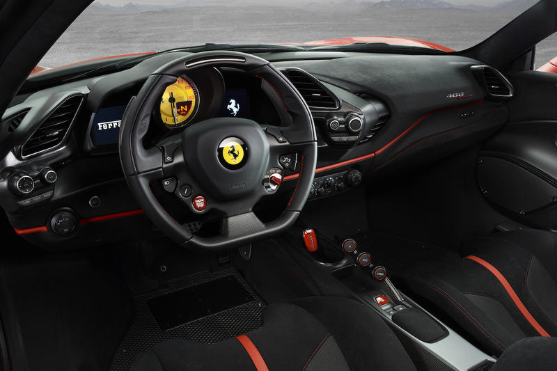 Ferrari 488 Pista car red 2018 sportscar sports hypercar supercar Geneva Motor Show