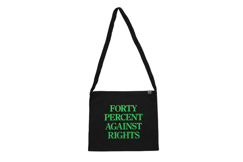 FPAR FORTY PERCENTS AGAINST RIGHTS Release First Spring/Summer 2018 Drop