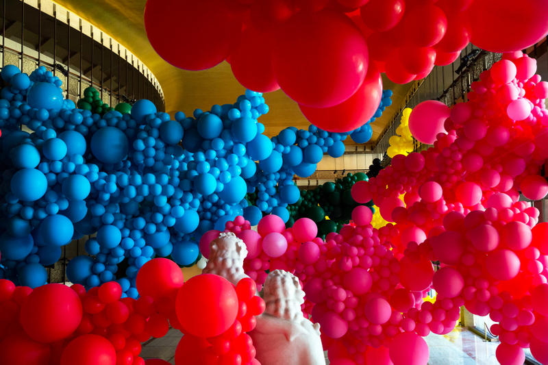 Geronimo New York City Ballet Lincoln Center Balloon Installation Jihan Zencirli