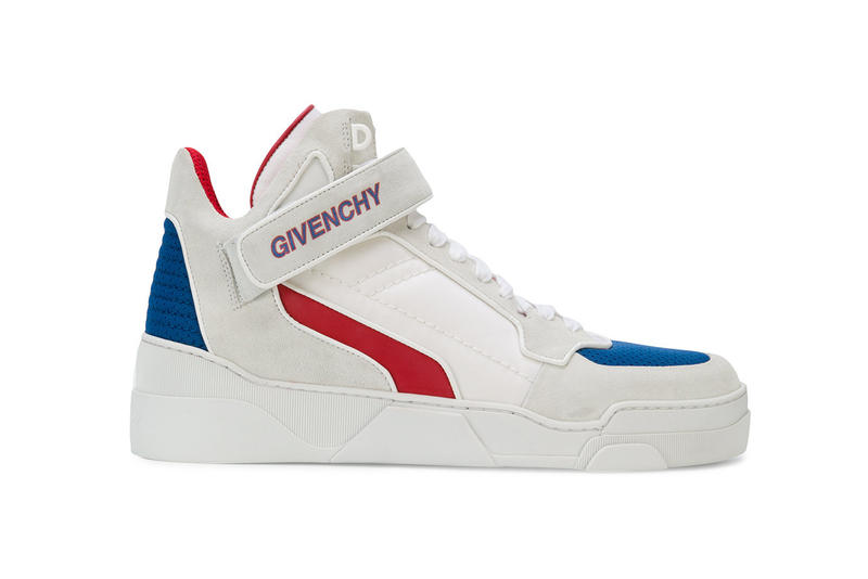 32ae4e056b40 Givenchy Mid Sneakers red white blue 2018 spring summer february release  date info shoes footwear farfetch