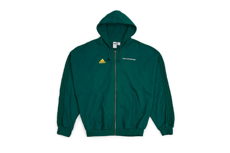 Gosha Rubchinskiy Spring Summer 2018 Second Drop Dover Street Market adidas football hoodies